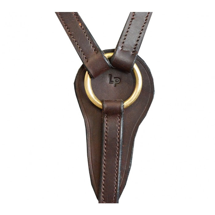 Breastplate -  Leather Traditional,  no plait