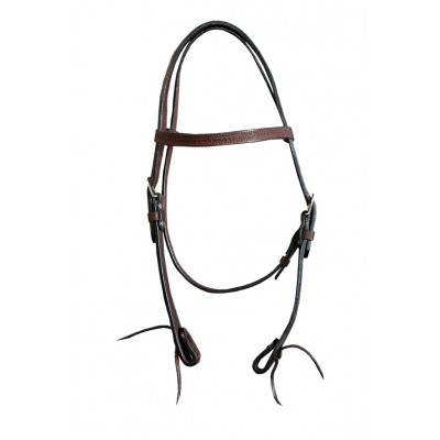 Bridle - Leather with basket tooling