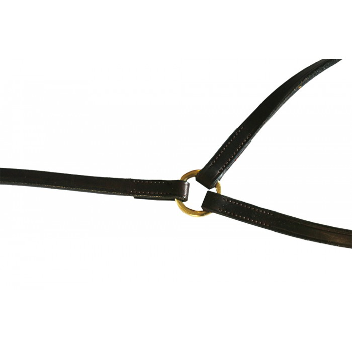 Polo Running Martingale Reins-Clip to girth