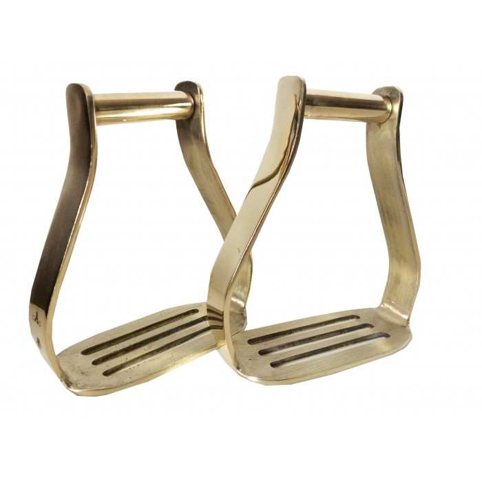 Oxbow- Offset Brass - Solid