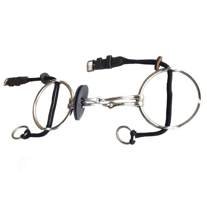 Polo Big Ring Gag Stainless Steel Barrie Smooth Squared