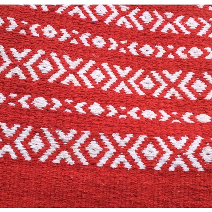 Thick Cotton Polo Blanket - Red