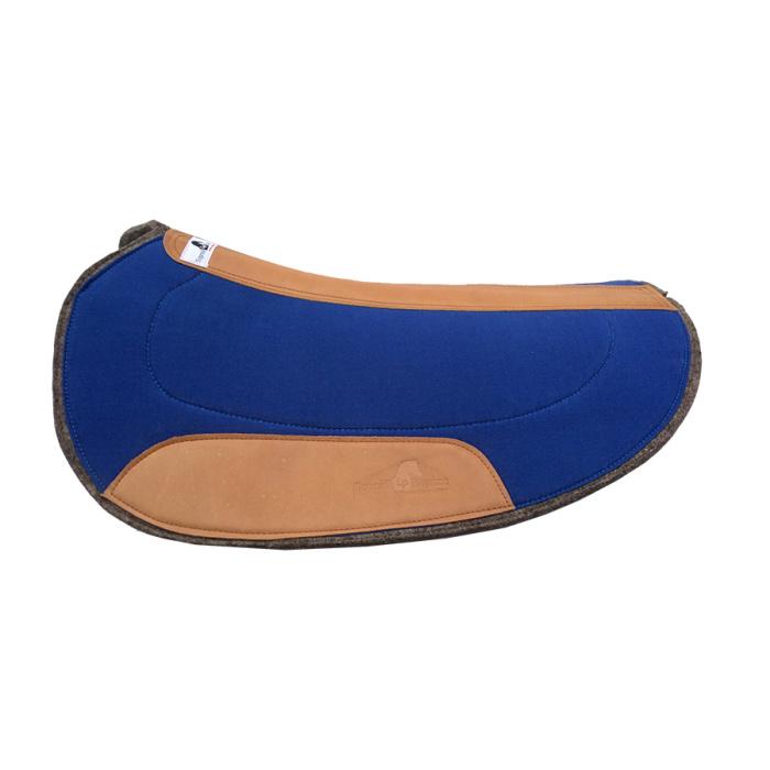 Oval Challenge / Barrel Race Pad - Royal Blue