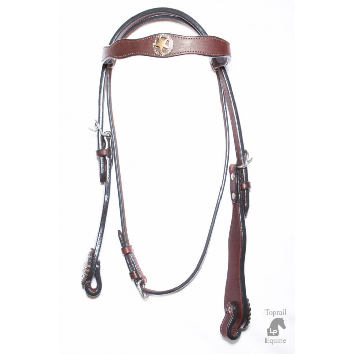 Bridle - Leather with Texas Lone Star conchos